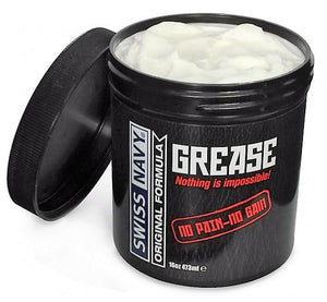 Swiss Navy Original Grease Oil Based Lubricant 473 ml (16 oz) or 59 ml (2 oz) Lubes & Toy Cleaners - Oil Based Swiss Navy