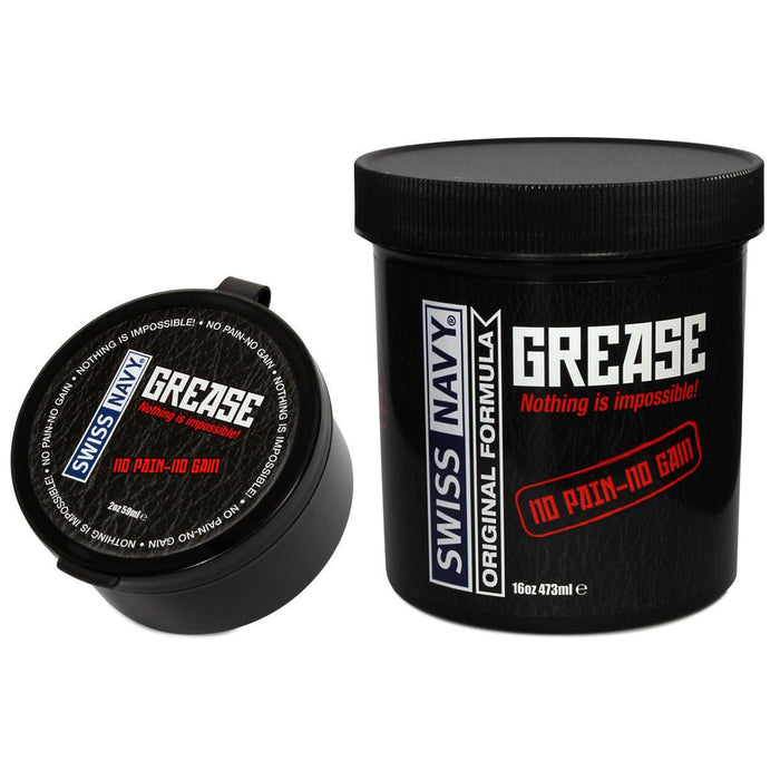 Swiss Navy Original Grease Oil Based Lubricant 473 ml (16 oz) or 59 ml (2 oz)