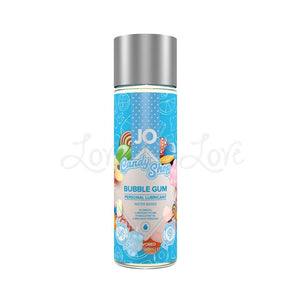 System JO H20 Flavored Candy Shop Bubble Gum 60 ML 2 FL OZ Lubes & Toy Cleaners - Flavoured Lubes System JO