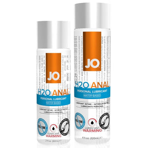 System JO H2O Anal Warming Lubricant 2 oz or 4 oz (Newly Replenished) Lubes & Toy Cleaners - Anal Lubes & Creams System JO