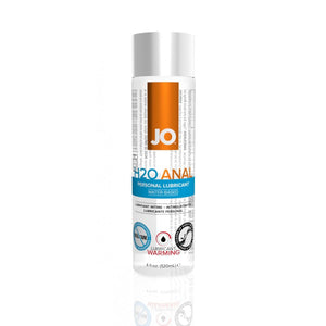 System JO H2O Anal Warming Lubricant 2 oz or 4 oz (Newly Replenished) Lubes & Toy Cleaners - Anal Lubes & Creams System JO 4 fl oz (120 ml)