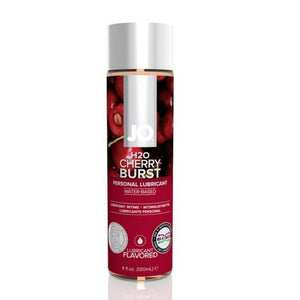 System JO H2O Flavored Lubricant Cherry Burst 120 ML 4 FL OZ Lubes & Toys Cleaners - Flavoured Lubes System JO 120 ML (4 FL OZ) Cherry Burst