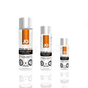 System JO Premium Anal Silicone Lubricant Original 60 ML or 120 ML or 240 ML Lubes & Toys Cleaners - Silicone Based System JO