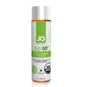 System JO USDA Organic NaturaLove Water-Based Lube 1 oz or 2 oz or 4 oz Lubes & Toys Cleaners - Natural & Organic System JO 4 fl oz 120 ml