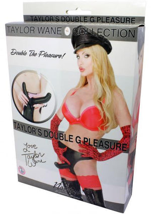 Taylor Wane Double G Pleasure Strap-Ons & Harnesses - Double Strap-Ons Nasstoys