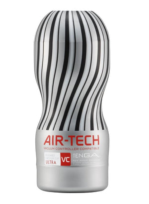 Tenga Air-Tech Reusable Ultra Silver - Vacuum Controller Compatible (Promotion Sale) Award-Winning & Famous - Tenga Tenga