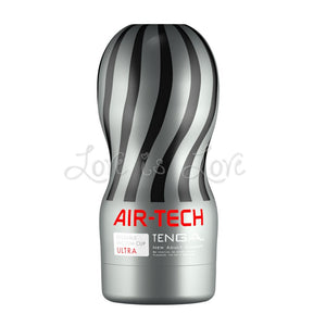 Tenga Air-Tech Reusable Ultra Silver (Vacuum Controller Non-Compatible ) Male Masturbators - Tenga Masturbators Tenga