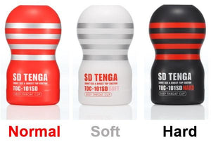 Tenga SD Deep Throat Cup Soft or Regular or Hard Award-Winning & Famous - Tenga Tenga Normal