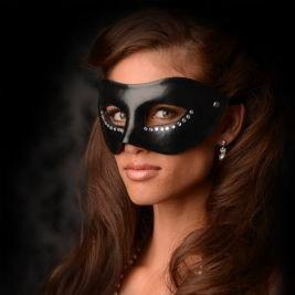 Greygasms The Luxoria Masquerade Mask With Crystals
