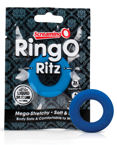 The Screaming O RingO Ritz Cock Ring Black or Blue (Newly Replenished)