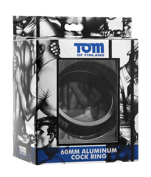 Tom of Finland Aluminum Cock Ring 50 mm or 60 mm For Him - Cock Rings Tom Of Finland