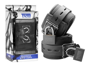 Tom Of Finland Neoprene Wrist Cuffs Bondage - Ankle & Wrist Restraints Tom Of Finland
