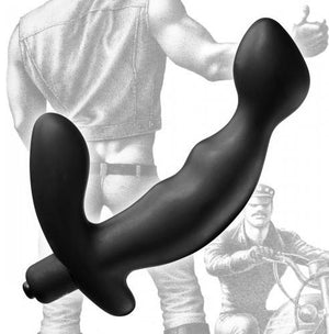 Tom Of Finland Silicone P-Spot Vibe Prostate Massagers - Other Prostate Toys Tom Of Finland