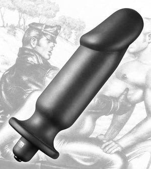 Tom Of Finland Silicone Vibrating Anal Plug Anal - Anal Probes & Tools Tom Of Finland