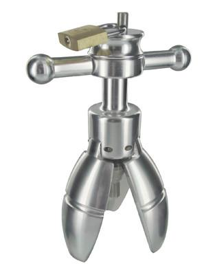 Trillium Steel Locking Anal Plug Spreader ( Just Sold - Low Stock )