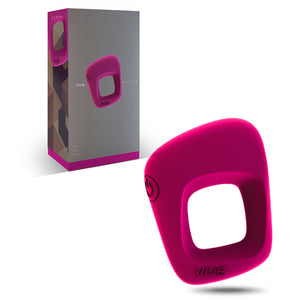 Vive Senca USB Rechargeable Vibrating Cockring buy at LoveisLove U4Ria Singapore