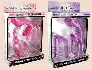 Wand Essentials 7 Function Wand Attachments Vibrators - Wands & Attachments NPG
