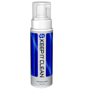 Wet Keep It Clean Foaming Toy Wash 221 ML 7.5 FL OZ Lubes & Toy Cleaners - Anal Lubes & Creams WET