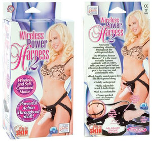 Wireless Power Harness Two Strap-Ons & Harnesses - Vibrating Strap-Ons CalExotics