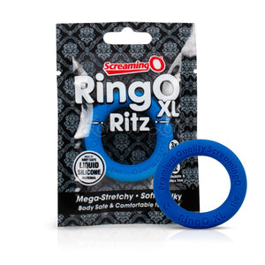 The Screaming O RingO Ritz Cock Ring Blue XL buy in Singapore LoveisLove U4ria