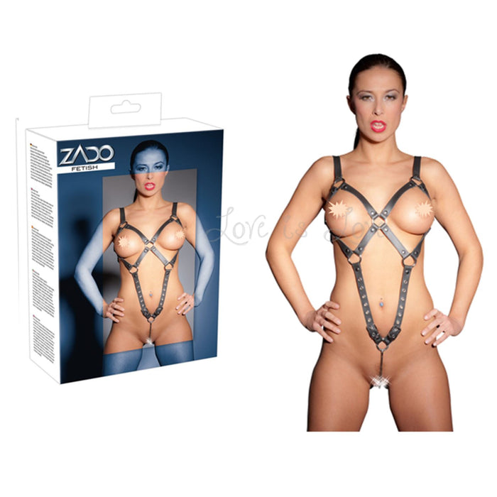 Zado Leather Body Harness S/L