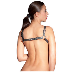 Zado Leather Body Harness S/L Bondage - Women's Fetish Wear Zado