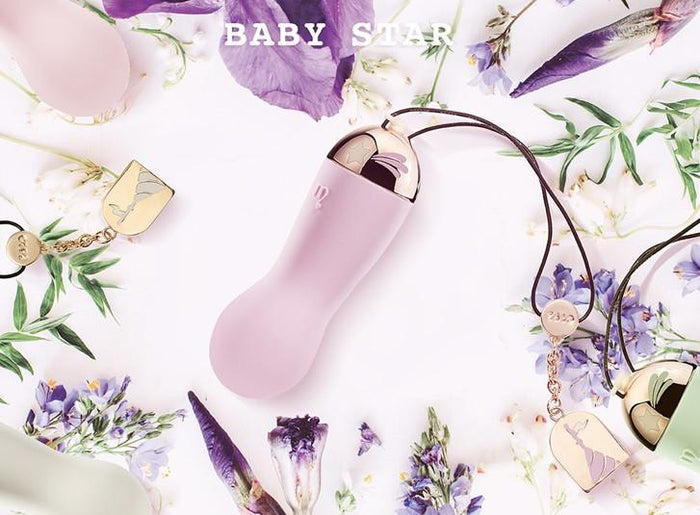 Zalo Lolita Baby Star Powerful 8 Mode Rechargeable Mini Vibrator