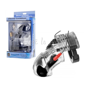 Zeus Electro Lockdown Estim Male Chastity Cage (Newly Replenished on Apr 19) ElectroSex Gear - Zeus Zeus