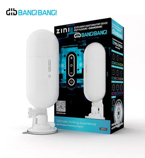 Zini Dib Bang Bang (Included 1 Tentacle Inner Cup) Male Masturbators - Automatic Masturbators Zini None