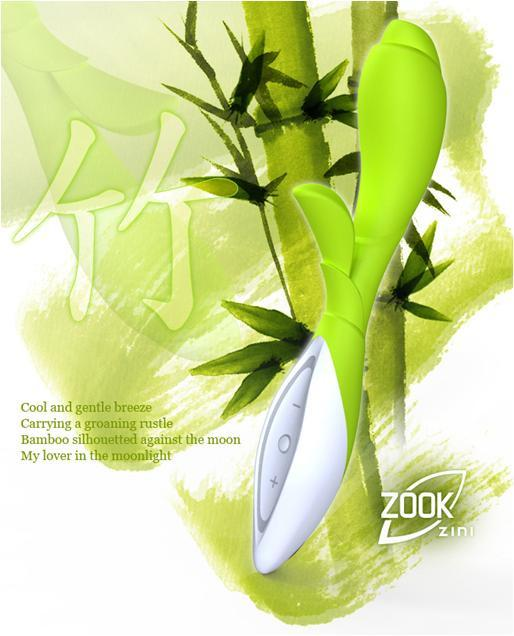 Zini Zook Rechargeable G-Spot Luxury Rabbit Vibrator