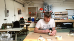 Summiteer Repair Shop - Reattaching soles to shoes