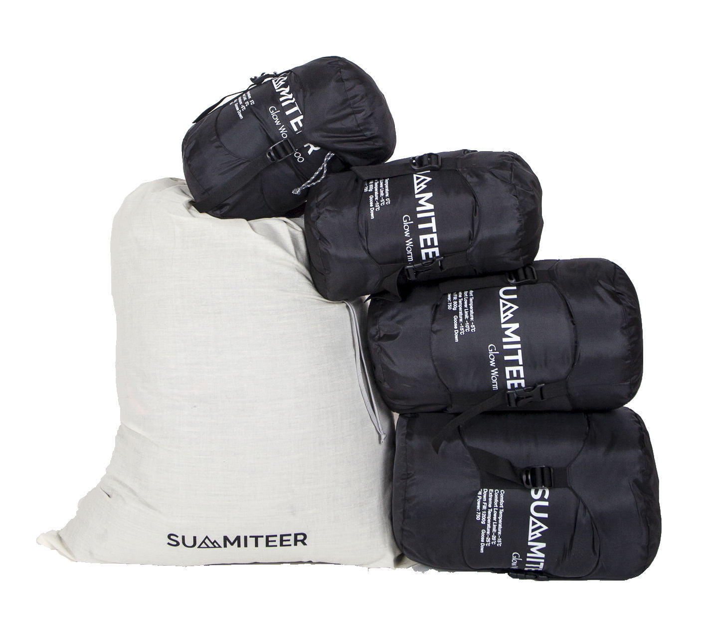 Summiteer Glow Worm 800 Sleeping Bag - Summiteer Outdoor Equipment