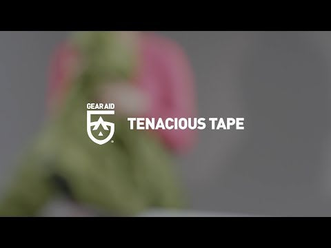 Load and play video in Gallery viewer, Tenacious Tape Clear PVC 7.6cm x 50cm
