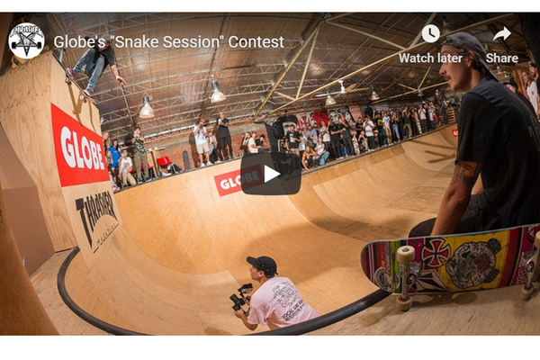 Truckstop 2nd place at Globe x Thrasher Snake Sessions