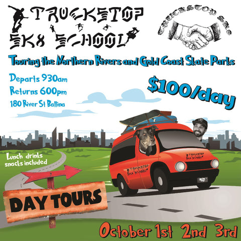 skatepark day tours