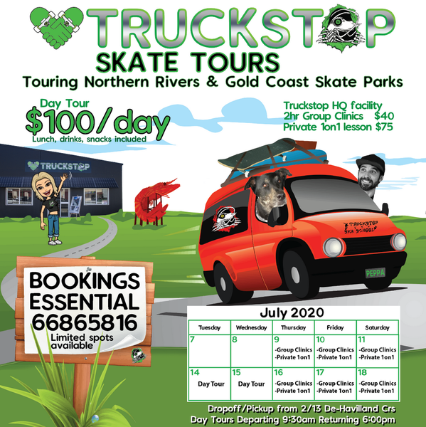 Truckstop Tours July 2020
