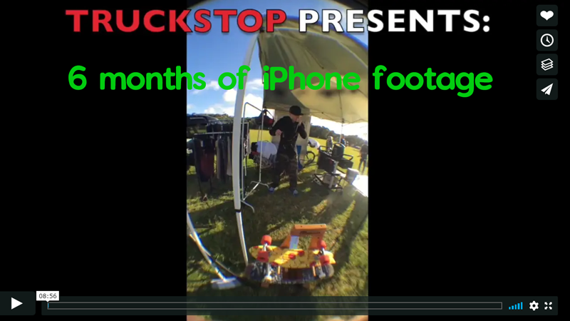 6 months of iphone footage truckstop