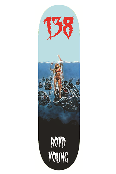 138 Skateboards - Boyd Young Pro 8.5 Deck