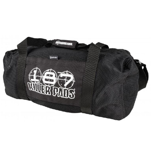 187 Killer Pads - Mesh Duffel Bag 10 Black
