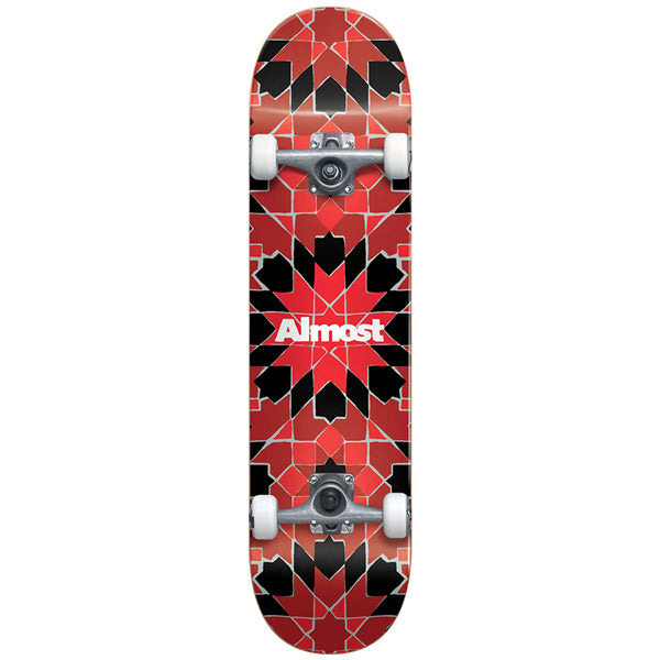 Almost - Tile Pattern First Push Complete Skateboard 7.75""