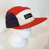 Baus Headwear - 5 Panel Camper Red White Blue