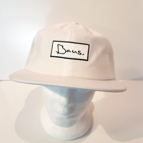 Baus Headwear - 6 Panel Soft Top Snapback White