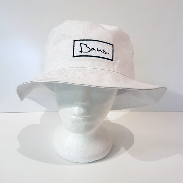 Baus Headwear - Bucket Hat Deep White