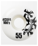 Bones Wheels - 100's Natural 55mm