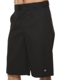 Dickies - Regular Fit Black Twill Work Short 13in Inseam