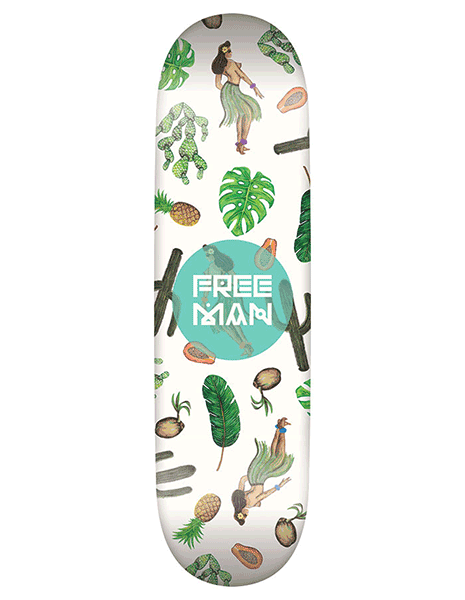 Freeman Skateboards - Tropical Desert Series