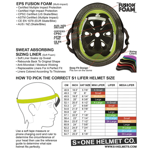 S-One - S1 Mini Lifer Helmet Bright Green