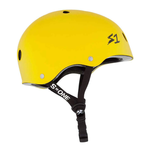 S-One - S1 Lifer Series Helmet Yellow Matte