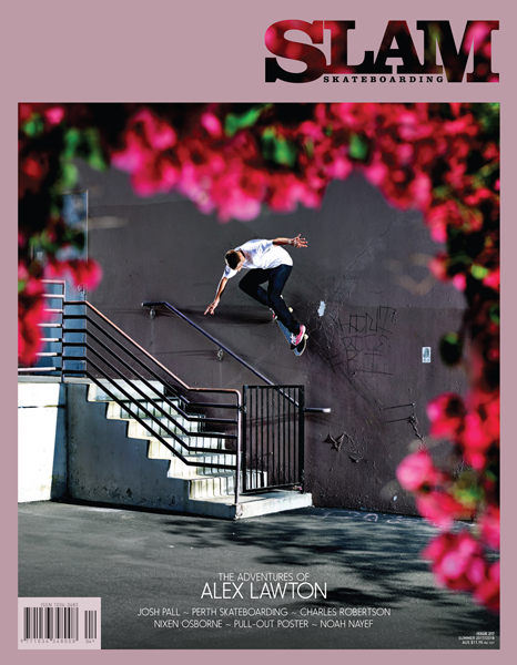 Slam Skateboarding Magazine - 217