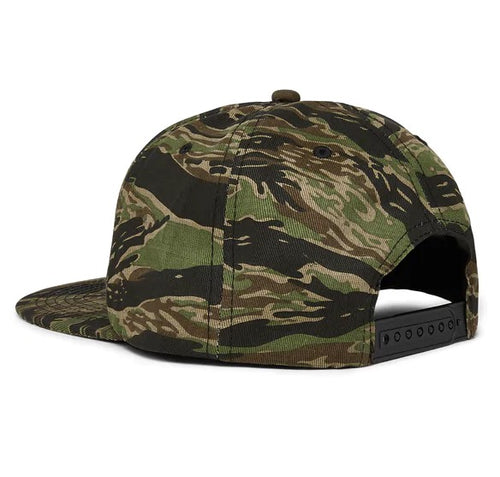 Thrasher - Godzilla Embroidered Snapback Tiger Camo Hat